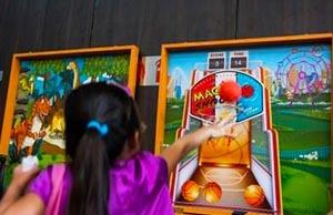 Carnival Game Stalls