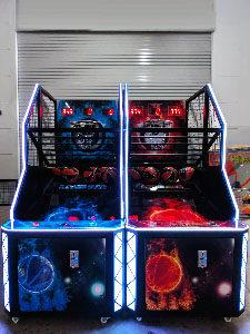 basketball arcade rental