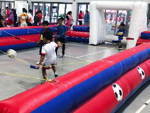 Human Soccer rental singapore